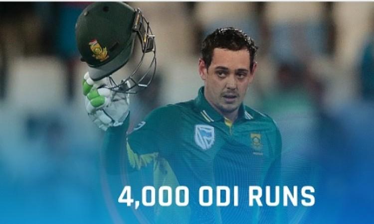 चौथे वनडे में श्रीलंका से साउथ अफ्रीका के मिली हार लेकिन क्विंटन डी कॉक ने बनाया ये खास रिकॉर्ड Imag