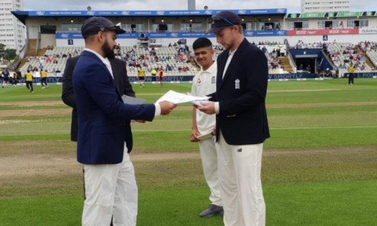 चौथे टेस्ट में टॉस जीतकर इंग्लैंड कप्तान जो रूट ने इस कारण किया पहले बल्लेबाजी करने का फैसला Images