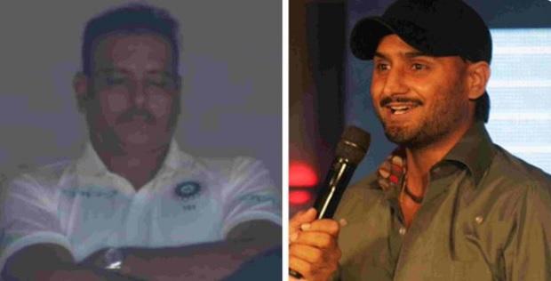 VIDEO जब लाइव मैच में कोच रवि शास्त्री ने ली झपकी तो हरभजन ने ऐसे लिए मजे Images