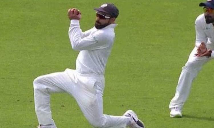 विराट कोहली ने चौथे टेस्ट में 2 कमाल का कैच लपककर रच दिया नया रिकॉर्ड Images