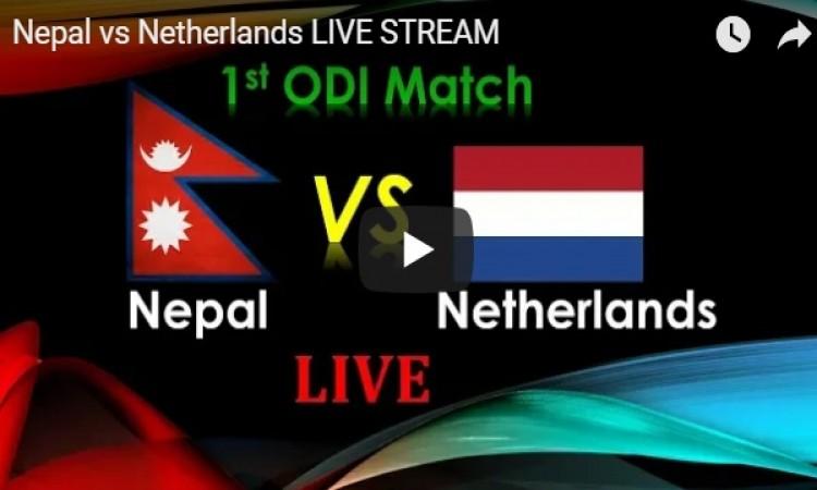 ऐतिहासिक वनडे:  नेपाल बनाम  नीदरलैंड्स, यहां देख सकेंगे मैच का लाइव टेलीकास्ट Images