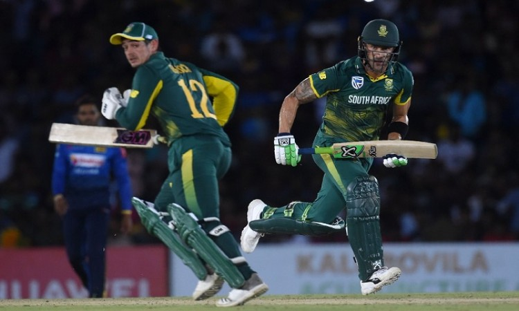 De Kock, Faf power Proteas to 4-wicket victory against SL in 2nd ODI