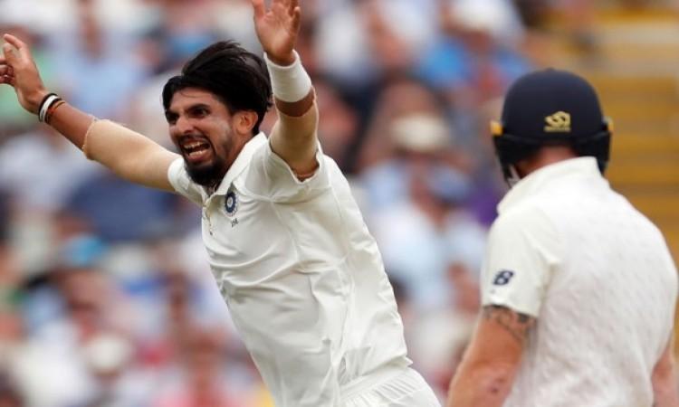 ट्रेंट ब्रिज: भारत की टीम जीत से केवल 6 विकेट दूर, इशांत ने ढ़ाया कहर