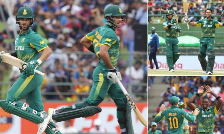 साउथ अफ्रीकी टीम ने श्रीलंका को 78 रन से हराकर सीरीज में 3- 0 की अजेय बढ़त ली
