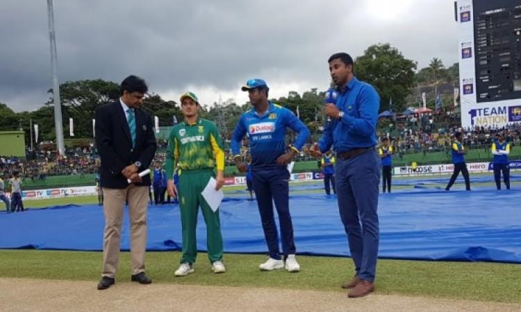 चौथे वनडे में साउथ अफ्रीका ने टॉस जीतकर पहले गेंदबाजी का फैसला, श्रीलंकापहले करेगी बल्लेबाजी Images