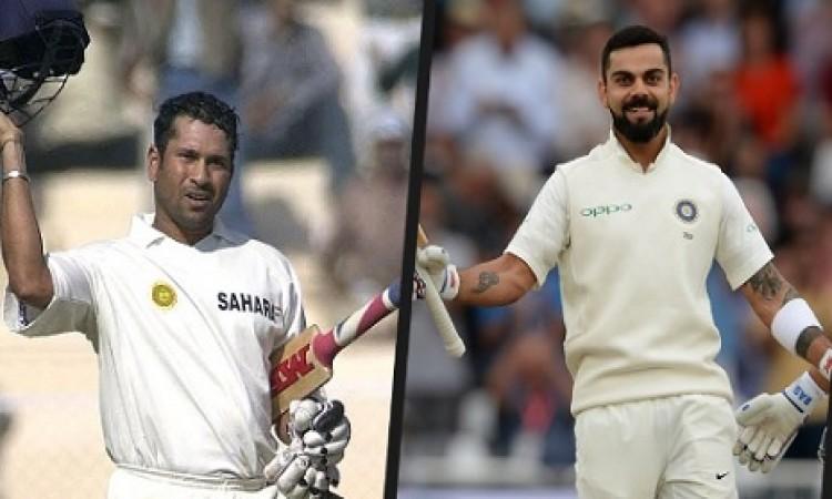 ट्रेंट ब्रिज टेस्ट में कोहली का सचिन 'कारनामा', 17 साल बाद दोहराया तेंदुलकर वाला इतिहास Images