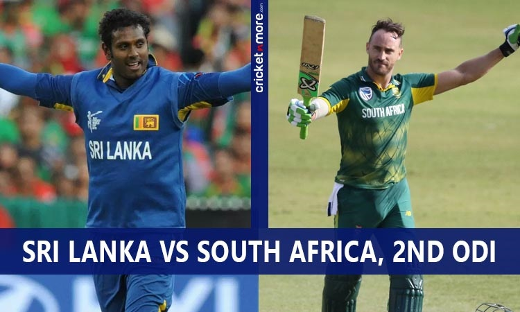 sri lanka opt to bat first against south africa in second odi