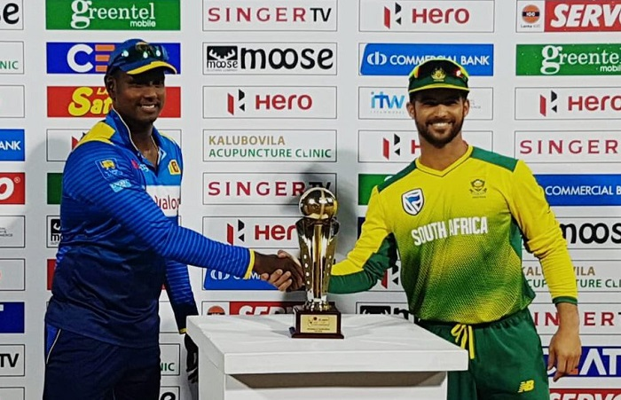 South Africa opt to bat vs Sri Lanka in only T20I