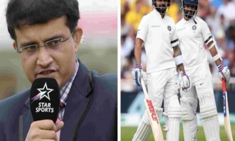 चौथे टेस्ट में टॉस से ठीक पहले गांगुली ने कोहली को दी सलाह, ऐसा करने के बाद ही मिलेगी जीत
