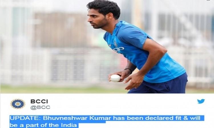 चौथे टेस्ट से पहले आई खुशखबरी, भुवनेश्वर कुमार फिट होकर हुए टीम में शामिल BREAKING