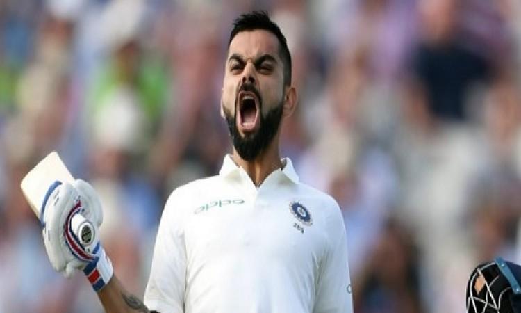 विराट कोहली ने टेस्ट में जमाया 23वां शतक और बना दिए दिलचस्प रिकॉर्ड Images