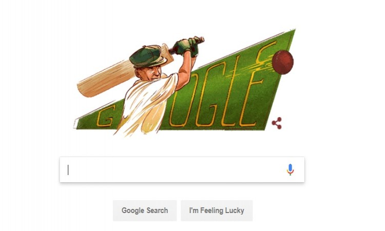 गूगल ने महानतम सर डॉन ब्रैडमैन को उनके जन्मदिवस पर बेहद ही शानदार ढ़ंग से किया याद, जानिए Images