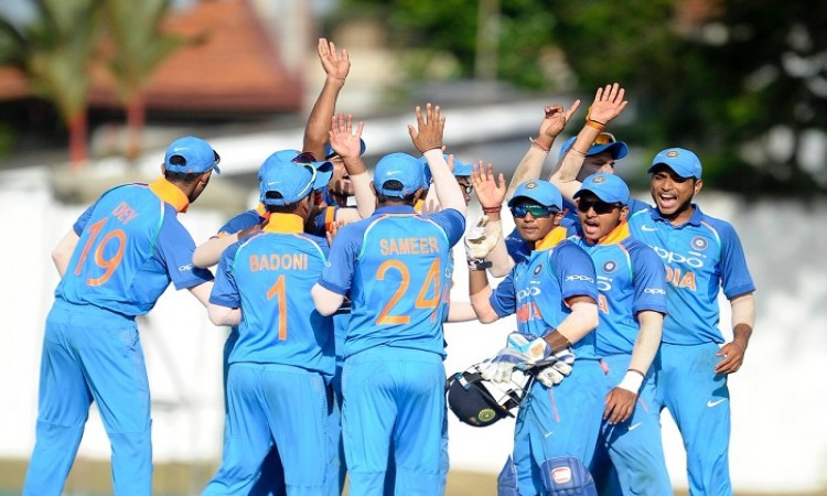 India U19 beat Sri Lanka