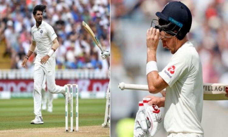 इशांत शर्मा और अश्विन का कहर, लंच तक इंग्लैंड के 6 विकेट गिरे Images