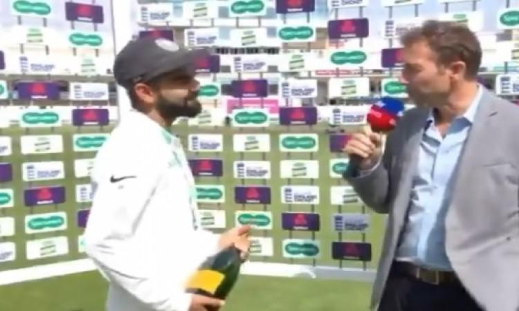 मैच जीतते ही कोहली ने अपने गेंदबाजों के लिए कर दिया ये बड़ा ऐलान Images