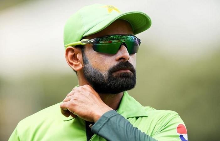 Pakistani cricketer Mohammad Hafeez