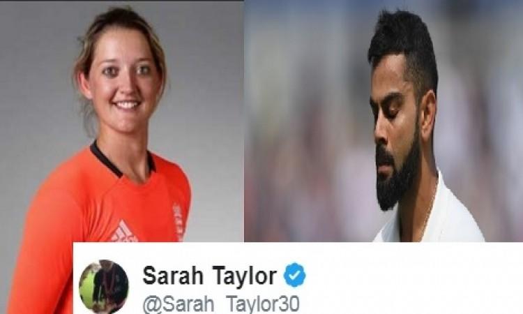 भारत को मिली हार के बाद खूबसूरत इंग्लैंड महिला क्रिकेटर ने हैरान करते हुए लिख डाली ऐसी बात