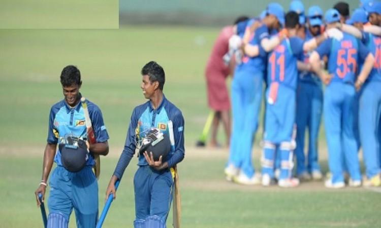 अंडर-19 क्रिकेट में श्रीलंका से भारत को 5 विकेट से मिली हार Images