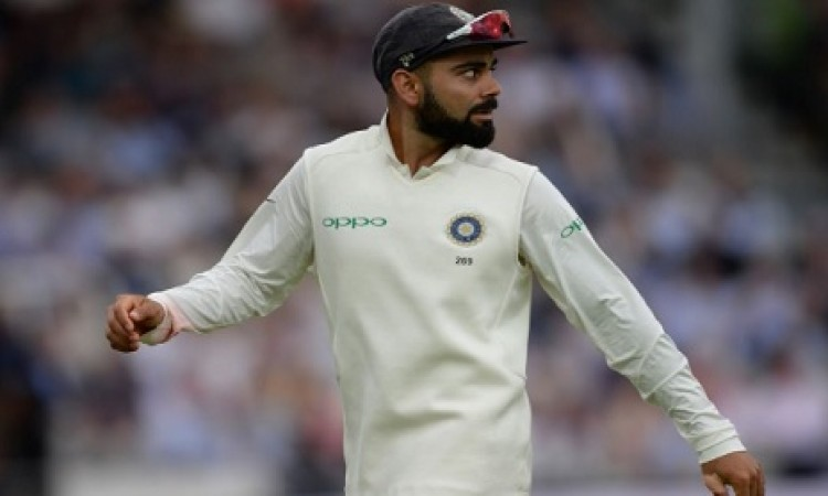दूसरे टेस्ट मैच के बीच में विराट कोहली को लेकर आई बुरी खबर Images