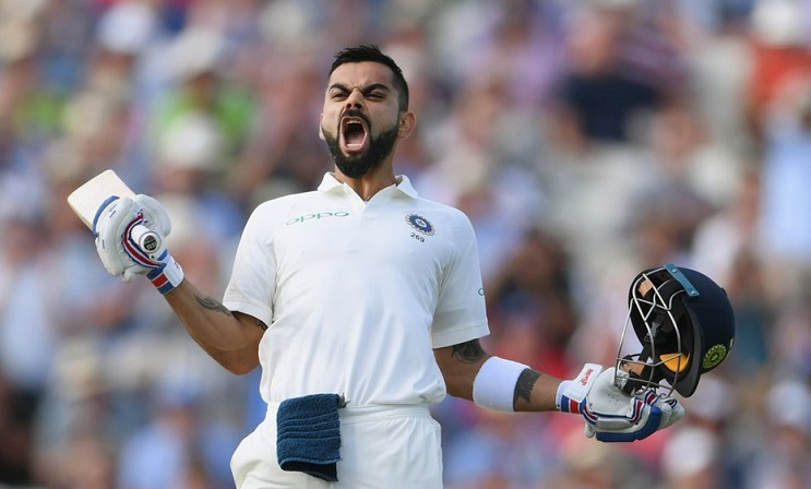 Virat Kohli's magical ton helps India post 274 in 1st innings