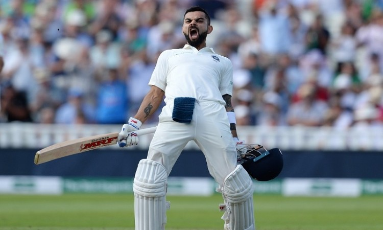 IND vs ENG: Kohli's magical ton helps India post 274 in 1st innings