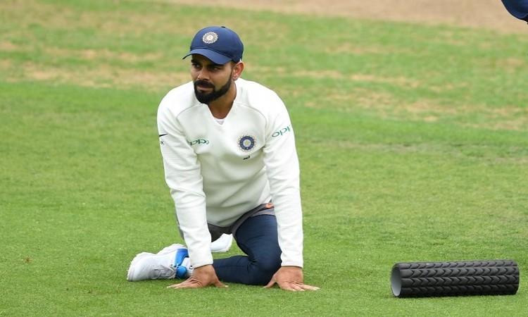 Virat Kohli's back is feeling absolutely fine