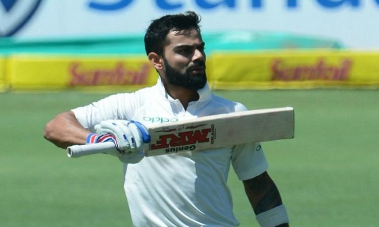 IND vs ENG: Virat Kohli's half-ton takes India to 160/6 at tea