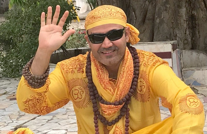 virender sehwag shared photo in baba look