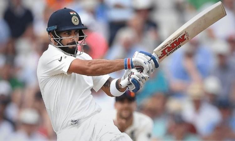 चौथे टेस्ट में विराट कोहली 46 रन हुए आउट लेकिन बना गए ऐसा अनोखा भारतीय रिकॉर्ड Images