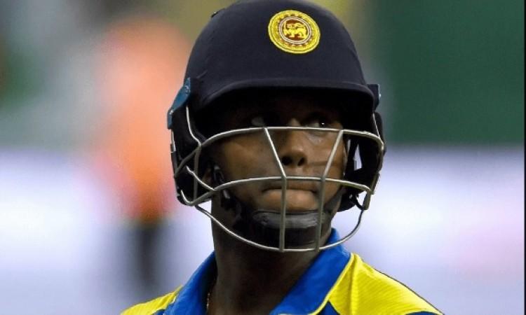 श्रीलंकाई बोर्ड के द्वारा ऐसा फैसला किए जाने के बाद मैथ्यूज हुए नाराज, ले सकते हैं हैरान करने वाला फ