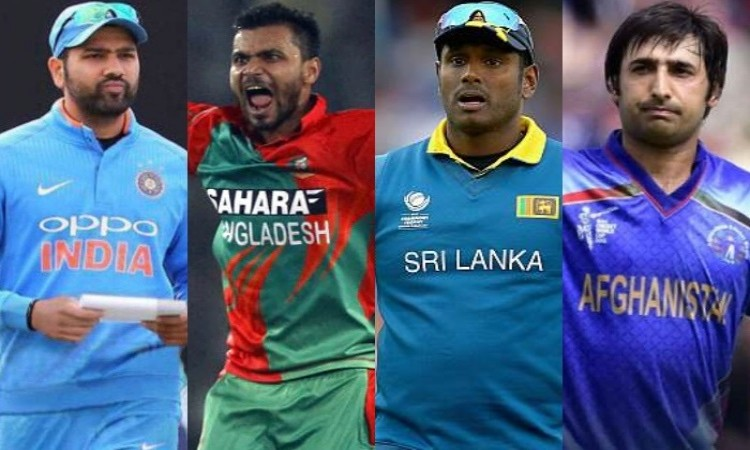 Asia cup 2018 full squads