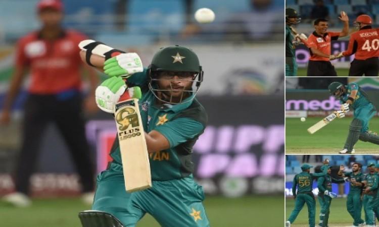 Asia Cup 2018 : पाकिस्तान ने एकतरफे मुकाबले में हांगकांग को 8 विकेट से हराया Images