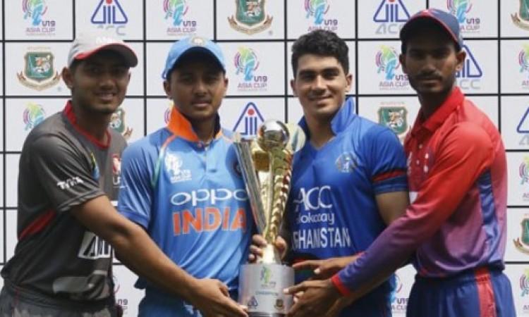 अंडर-19 एशिया कप में भी भारतीय टीम का कमाल, यूएई को 227 रन से करारी शिकस्त दी Images