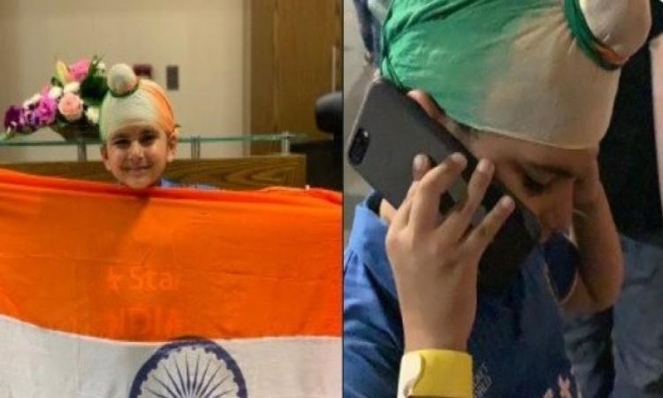 WATCH नन्हें फैन को रोता देख अब भुवनेश्वर कुमार का दिल भी रोया, फोन पर बच्चे से की बात  Images