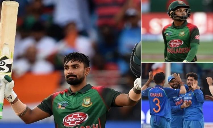 भारतीय गेंदबाजों की कसी हुई गेंदबाजी से फीका पड़ा लिटन दास का शतक, भारत को 223 रन का टारगेट Images