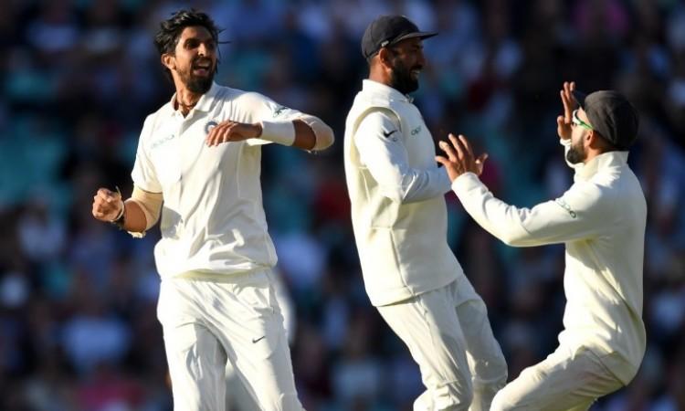 पांचवें टेस्ट के पहले दिन इंग्लैंड के 7 विकेट आउट, भारतीय गेंदबाजों ने आखिरी सत्र में ढ़ाया कहर Imag