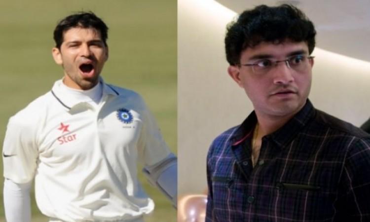 क्रिकेटर नमन ओझा ने गांगुली के साथ कर दी ऐसी हरकत, फैन्स ट्विटर पर लगा रहे हैं क्लास Images