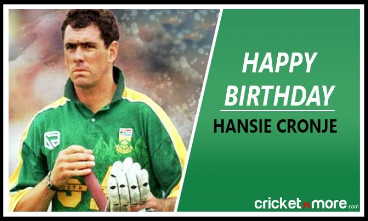 Hansie Cronje Birthday