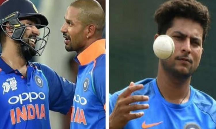 रोहित शर्मा, शिखर धवन, जसप्रीत बुमराह और राशिद खान ने वनडे रैंकिंग में किया यह गजब का कारनामा Images