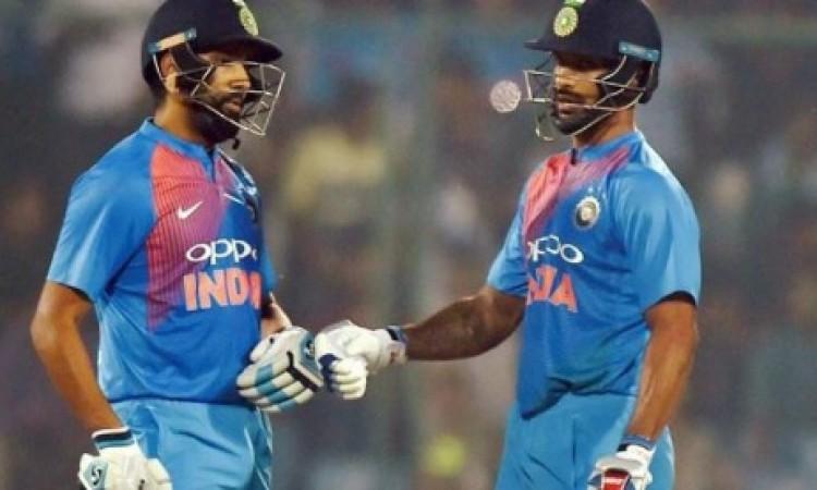 रोहित- धवन की जोड़ी ने रौंद दिया पाकिस्तान को, 9 विकेट से जीता भारत Images