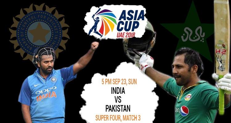 India vs Pakistan Super 4 Match Preview
