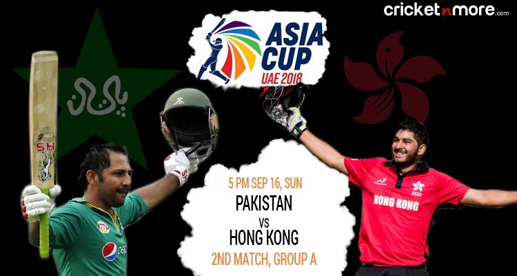 Pakistan vs Hong Kong
