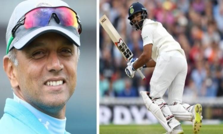 अपने डेब्यू टेस्ट से पहले हनुमा विहारी ने महान द्रविड़ से की बात, मिली बेहतर परफॉर्मेंस करने की प्रे