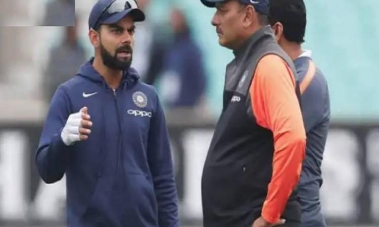 पांचवें टेस्ट से पहले कोच रवि शास्त्री ने दिया बचकाना बयान, फैन्स उड़ा रहे हैं मजाक Images