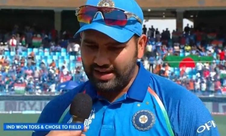 Asia Cup 2018  फाइनल में भारत के कप्तान रोहित शर्मा ने प्लेइंग XI में लिया ऐसा फैसला, जानिए Images