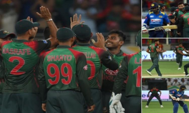 मुश्फीकुर रहीम के शानदार शतक और बांग्लादेश गेंदबाजों के कमाल से हारा श्रीलंका, 137 रनों से मिली हार