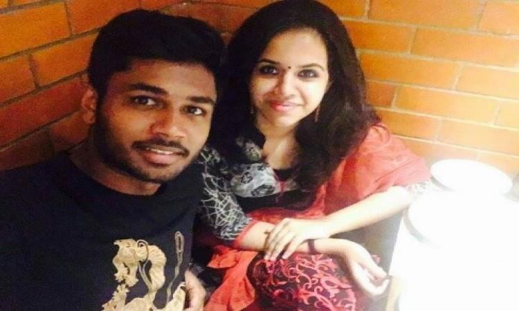 संजू सैमसन इस खूबसूरत लड़की से करने वाले हैं शादी, देखिए PHOTOS Images