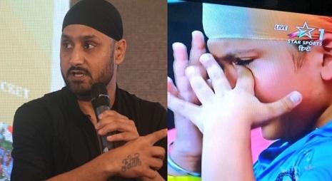 अफगानिस्तान के साथ मैच टाई होने पर नन्हा फैन रोने लगा तो भज्जी ने ऐसा कहकर दी खुश रहने की वजह Images
