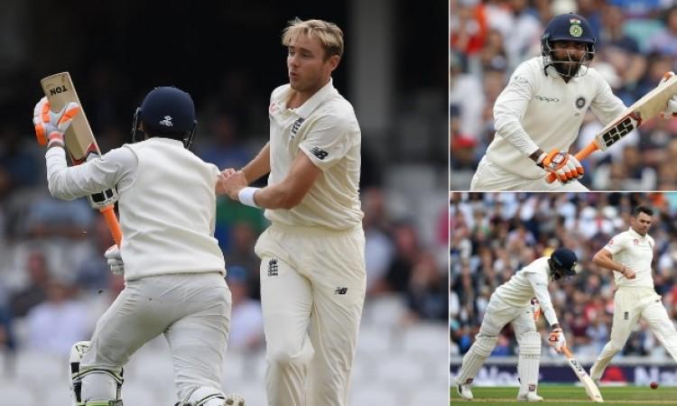 रवींद्र जडेजा और हनुमा विहारी का अर्धशतक, भारतीय टीम की पहली पारी 292 रनों पर सिमटी Images