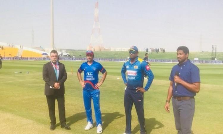 एशिया कप के चौथे मैच में श्रीलंका के खिलाफ अफगानिस्तान ने टॉस जीतकर पहले बल्लेबाजी करने का फैसला किय